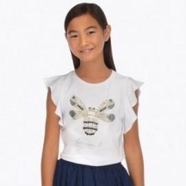 Mayoral 6013-32 Dívčí košile barva bílá