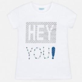 Mayoral 6016-41 Dívčí košile barva bílá