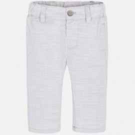 Mayoral 1510-34 Kalhoty chlapci barva stříbro