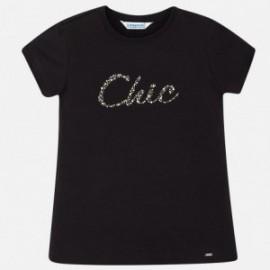 Mayoral 854-31 Dívčí tričko barva černá