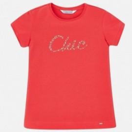 Mayoral 854-27 Dívčí košili barevný korál