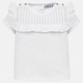 Mayoral 1013-49 Dívčí košile barva bílá