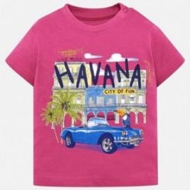 Mayoral 1026-55 Chlapec košile fuchsie barvy