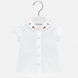 Mayoral 1113-45 Tričko holčičí barva bílá