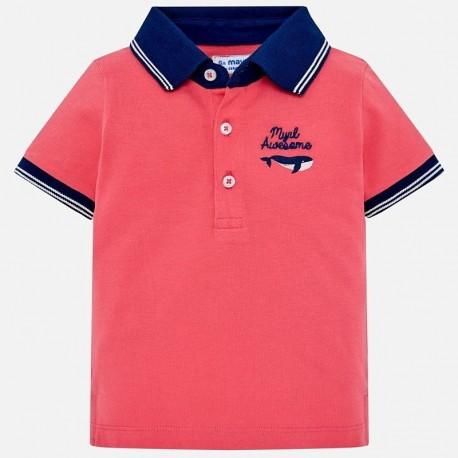 Mayoral 1121-66 Chlapčenská košile korálový barvy