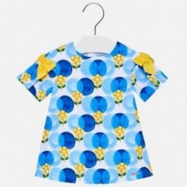 Mayoral 1923-30 Dívčí šaty barva modrý