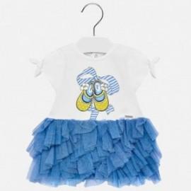 Mayoral 1942-30 Dívčí šaty barva modrý