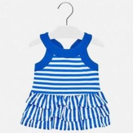 Mayoral 1945-85 Dívčí šaty barva modrý