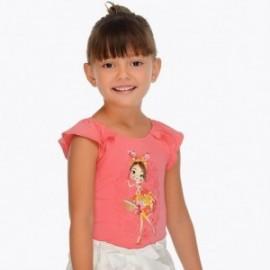 Mayoral 3001-19 Dívčí košile barva pelargónie