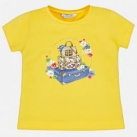 Mayoral 3015-62 Dívčí košile barva žlutý