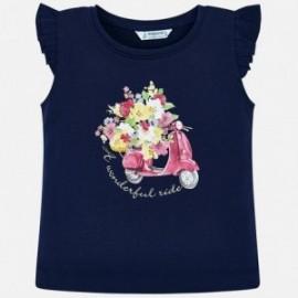 Mayoral 3023-50 Dívčí košile barva granát