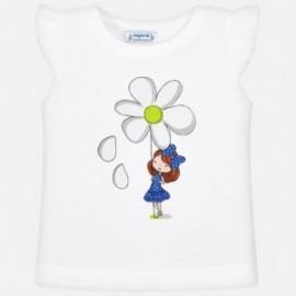 Mayoral 3023-49 Dívčí košili barva bílá