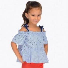 Mayoral 3104-2 halenka holčičí barva modrý