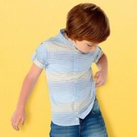 Mayoral 3135-88 Chlapec košile barva béžová