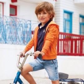 Mayoral 3228-61 Bermuda chlapci barevné lehké džíny