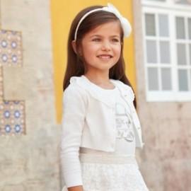 Mayoral 3302-76 Svetr dívčí barevný krém