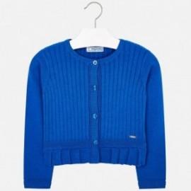 Mayoral 3303-83 Dívčí svetr barva modrý