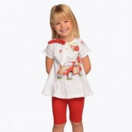 Mayoral 3509-84 Dívčí set červená barva