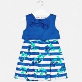 Mayoral 3923-65 Dívčí šaty barva modrý