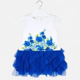 Mayoral 3927-56 Dívčí šaty barva modrý