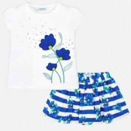 Mayoral 3957-60 Dívčí set barva modrý