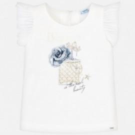 Mayoral 6028-92 dívčí tričko barevný krém