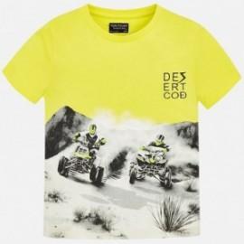 Mayoral 6035-76 tričko chlapci barva žlutý
