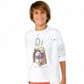 Mayoral 6036-59 Chlapčenské tričko bílé barvy