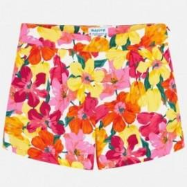 Mayoral 6205-25 Dívčí šortky korálové barvy