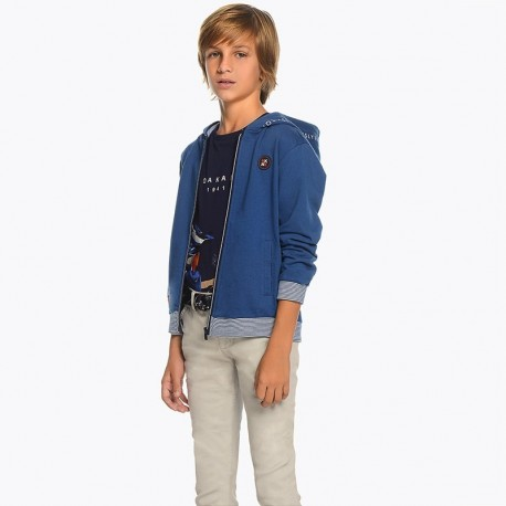 Mayoral 6510-90 Kalhoty chlapci barva šedá