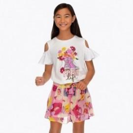 Mayoral 6907-39 Sukně kalhoty dívčí orchidej barvy