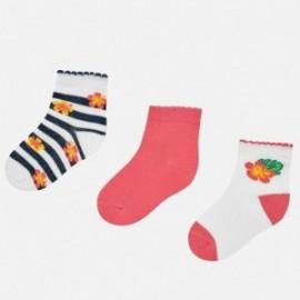 Mayoral 10531-83 Sada ponožek dívky barva růžový