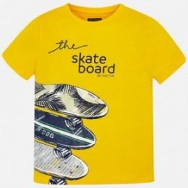 Mayoral 6038-95 tričko chlapci barva žlutý