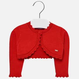 Mayoral 306-28 Dívčí svetr červený