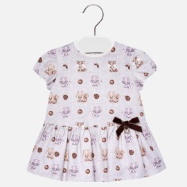 Mayoral 2944-40 Dívčí šaty barva béžová