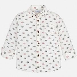 Mayoral 4156-22 Chlapčenská košile krémová barva