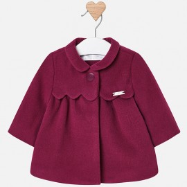 Mayoral 2440-69 Bundy kabát dívčí barevné švestky