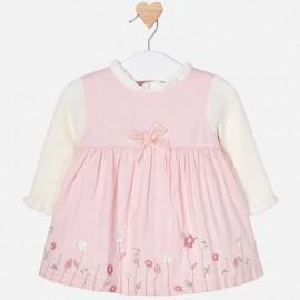 Mayoral 2834-58 Dětské šaty růžové barvy