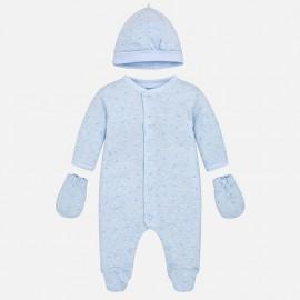 Mayoral 9914-63 Dárkový set pro novorozené dítě barva modrý