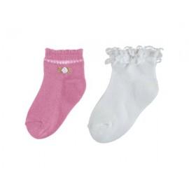 Mayoral 10530-62 Sada ponožek dívky barva korálový
