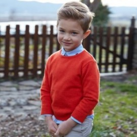 Mayoral 311-38 Chlapec červený svetr