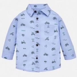 Mayoral 2140-88 Chlapecká košile modrá