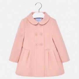Mayoral 2480-49 Dívčí kabát barva růžový
