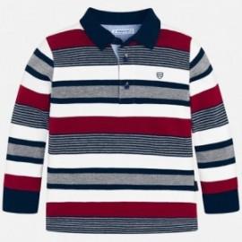 Mayoral 4100-63 tričko chlapci barva červená