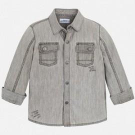 Mayoral 4152-38 košile chlapci barva šedá