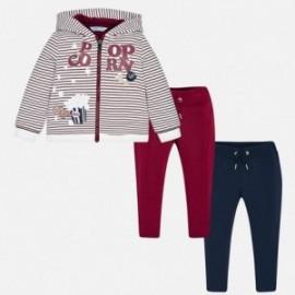 Mayoral 4818-57 track-suit dívčí barva granát