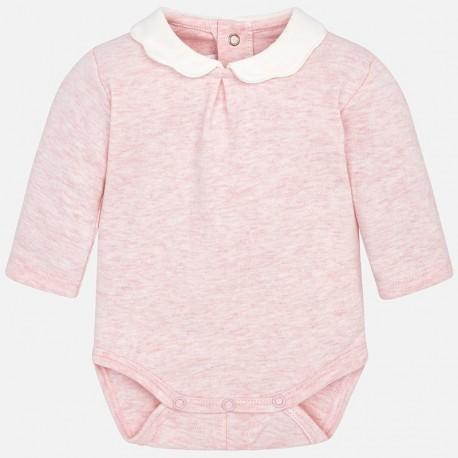 Mayoral 163-39 Dívčí tělo s límečkem růžový
