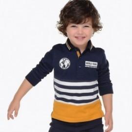 Mayoral 4110-27 Chlapčenská polokošile tmavě modrá