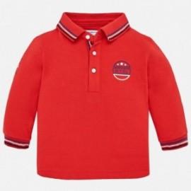 Mayoral 2110-29 Polokošile pro chlapce s dlouhými rukávy červená