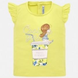 Mayoral 1016-31 Žluté dívčí tričko